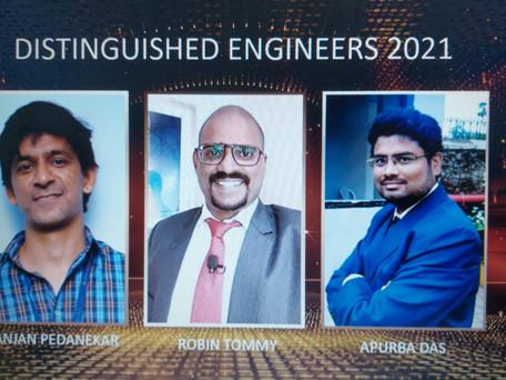 Distinguished Engineer Award 2021