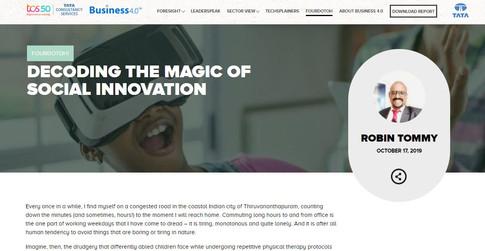 TCS Social Innovation