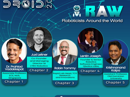 Speaker - Droid 2.0 Robotics Meetup