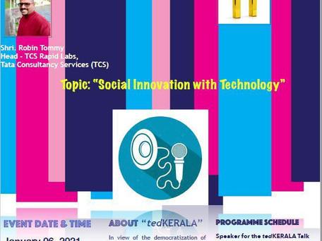 tedKerala Speaker - Social Innovation and Technology
