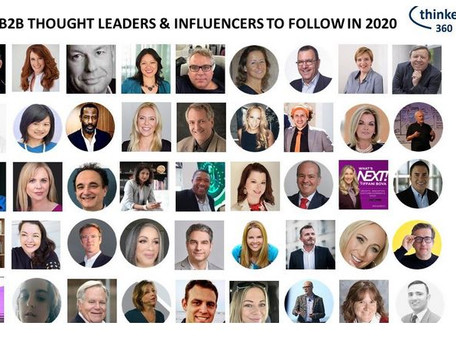 Ranked as Top100 Influencer by Thinkers360 in 2021