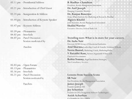 KMA Panelist - Management Students Convention