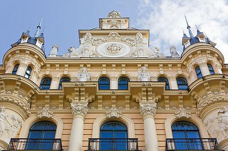 Casco antiguo de Riga y Art Nouveau