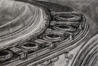 Ceiling architecture drawing