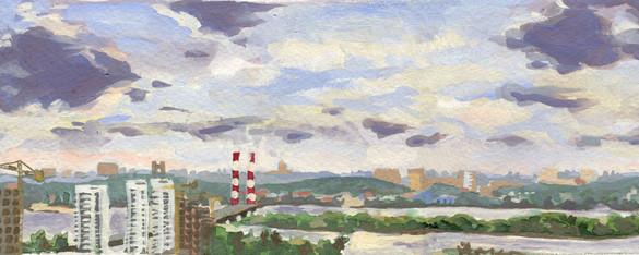 Plain aire of Kiev