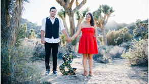 Joshua Tree Engagement | Karissa + John