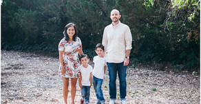 Gwinn Park Pasadena Family Session: Loc, Mike, Max, and Meyer