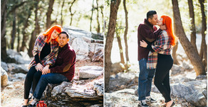 Crystal Lake Engagement | Ashleigh + Geo