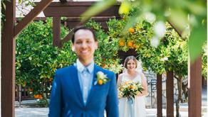 Riverside Backyard Wedding: Rachel + Peter