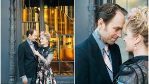 Broadway Engagement: Jeffery + Jessica