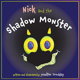 Nick and the Shadow Monster Front Cover.