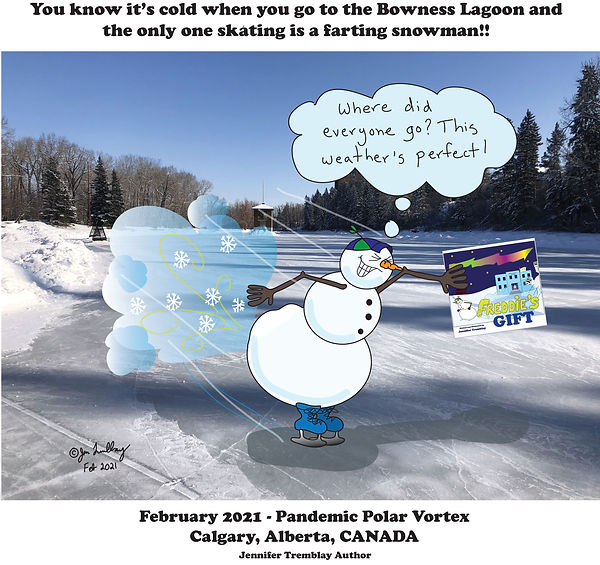 Freddie Skating Feb Polar Vortex 2021.jp