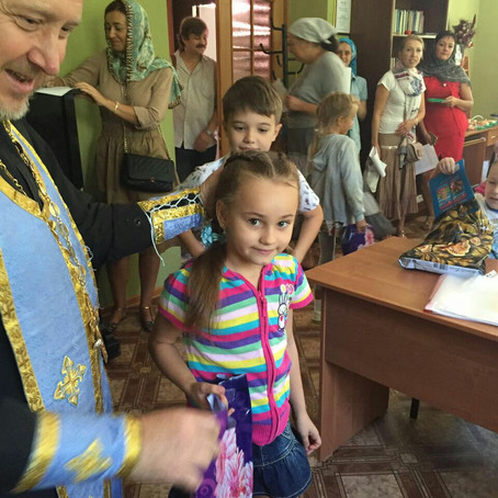 Начало учебного года в воскресной школе Вознесенского храма