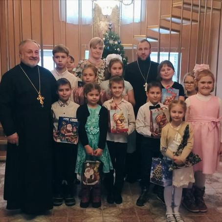 Празднование Рождества Христова продолжается!