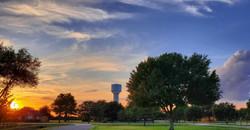 Sunset at VLRC