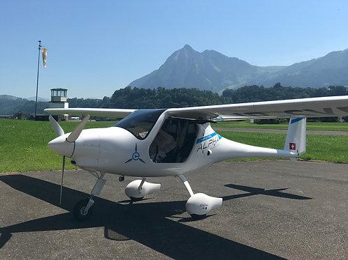 Elektro Schnupperflug 30 Flugminuten
