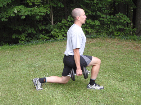 Lifting: Lunge