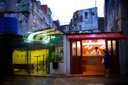 Orange & Green Refreshment Stand