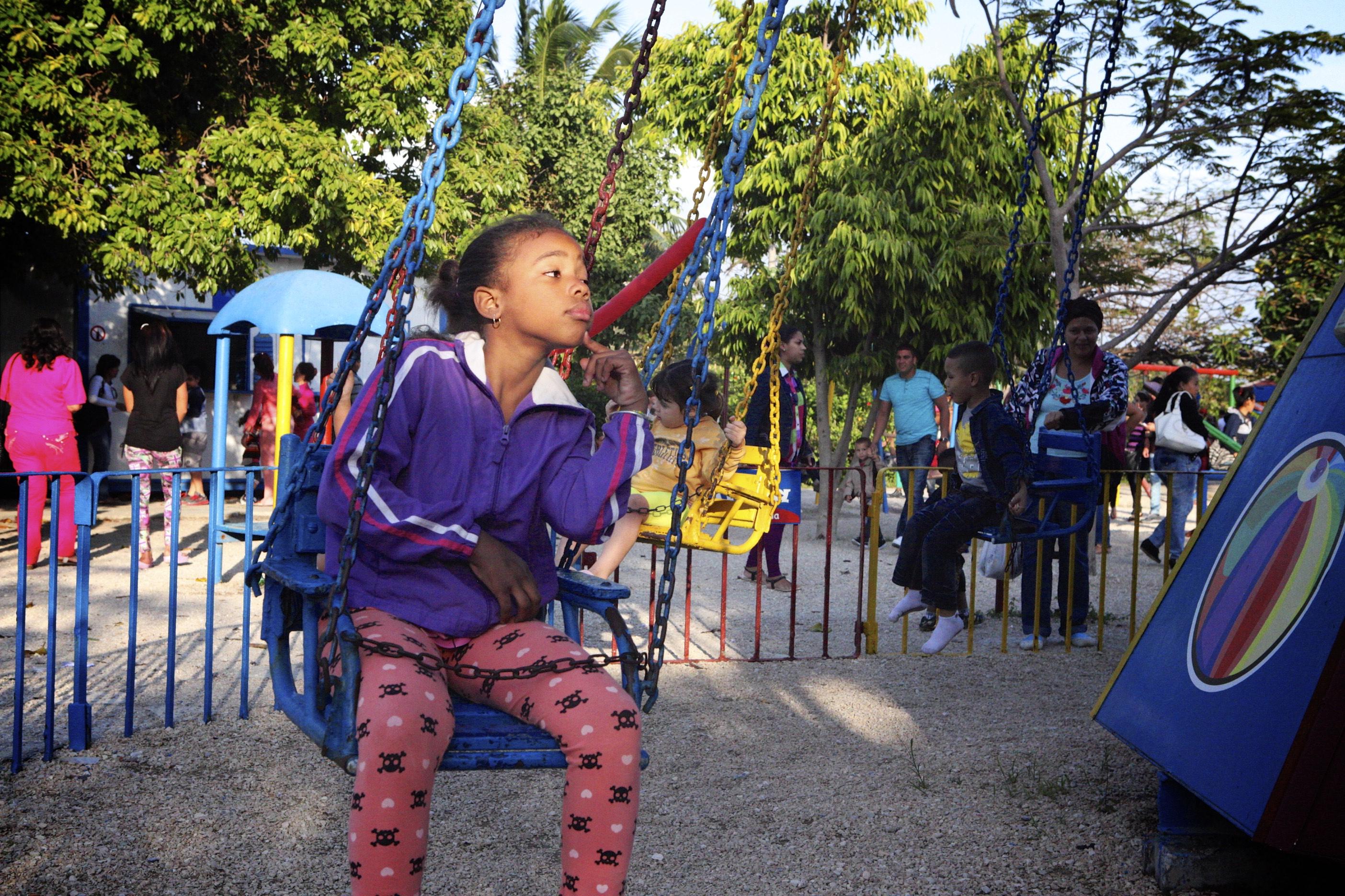 Chair Ride: Parque Maestranza