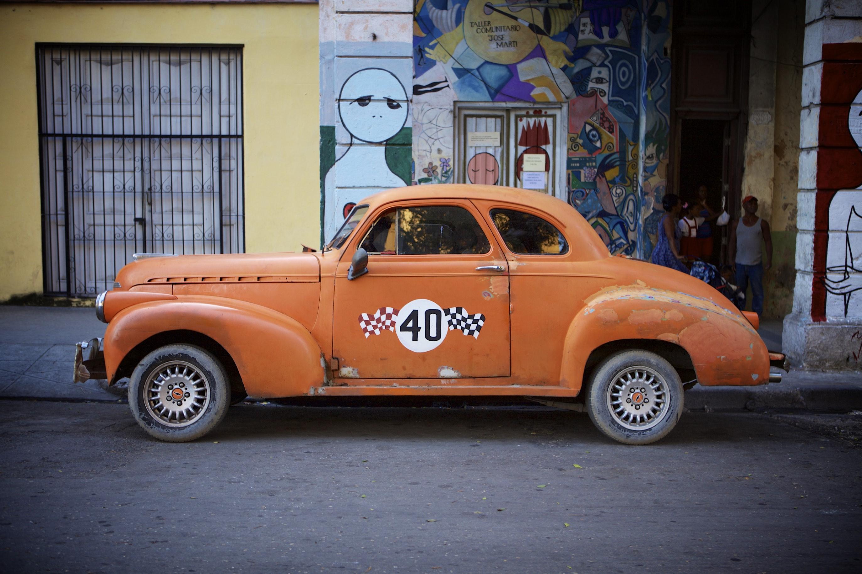 Orange Cab #40
