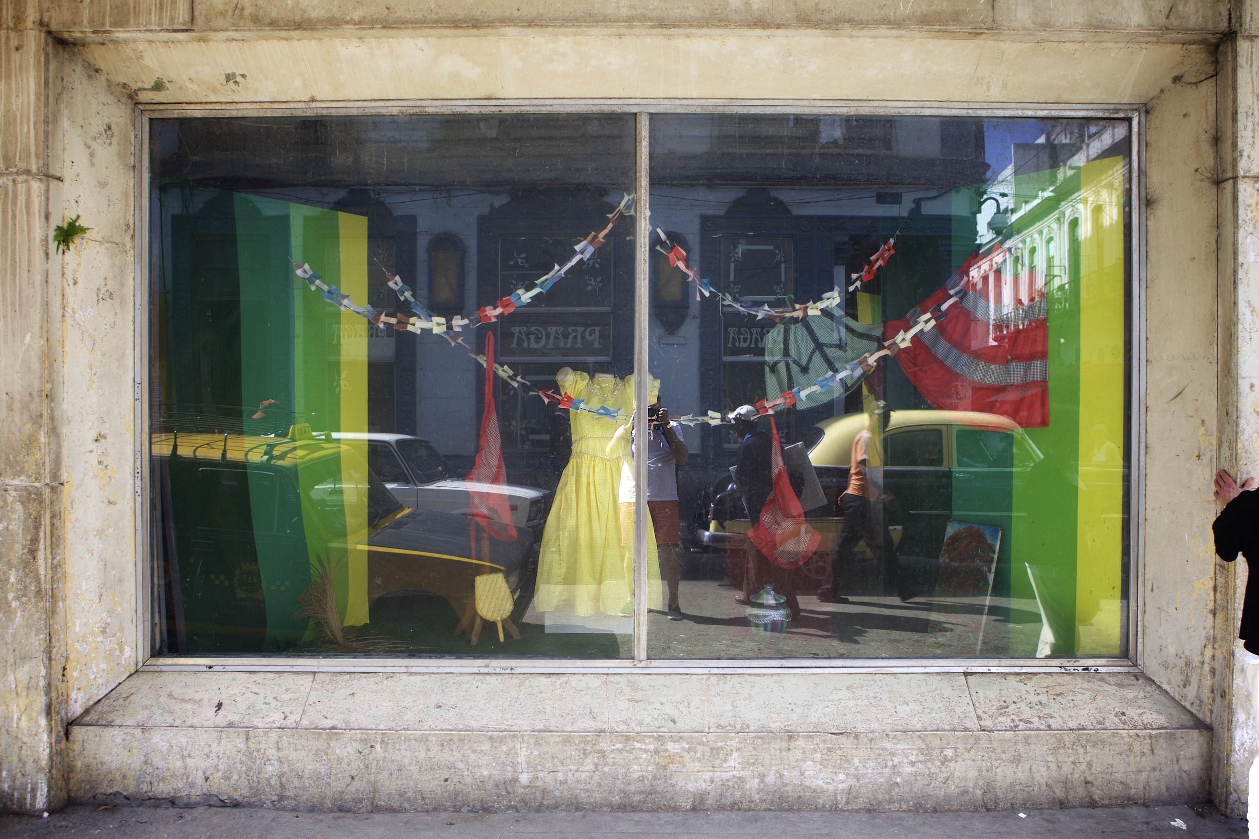 Quiciniera Dress - Dept Store Window