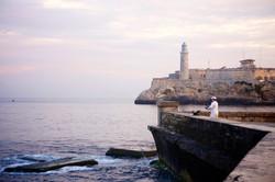 Habana Harbor and Fisherman