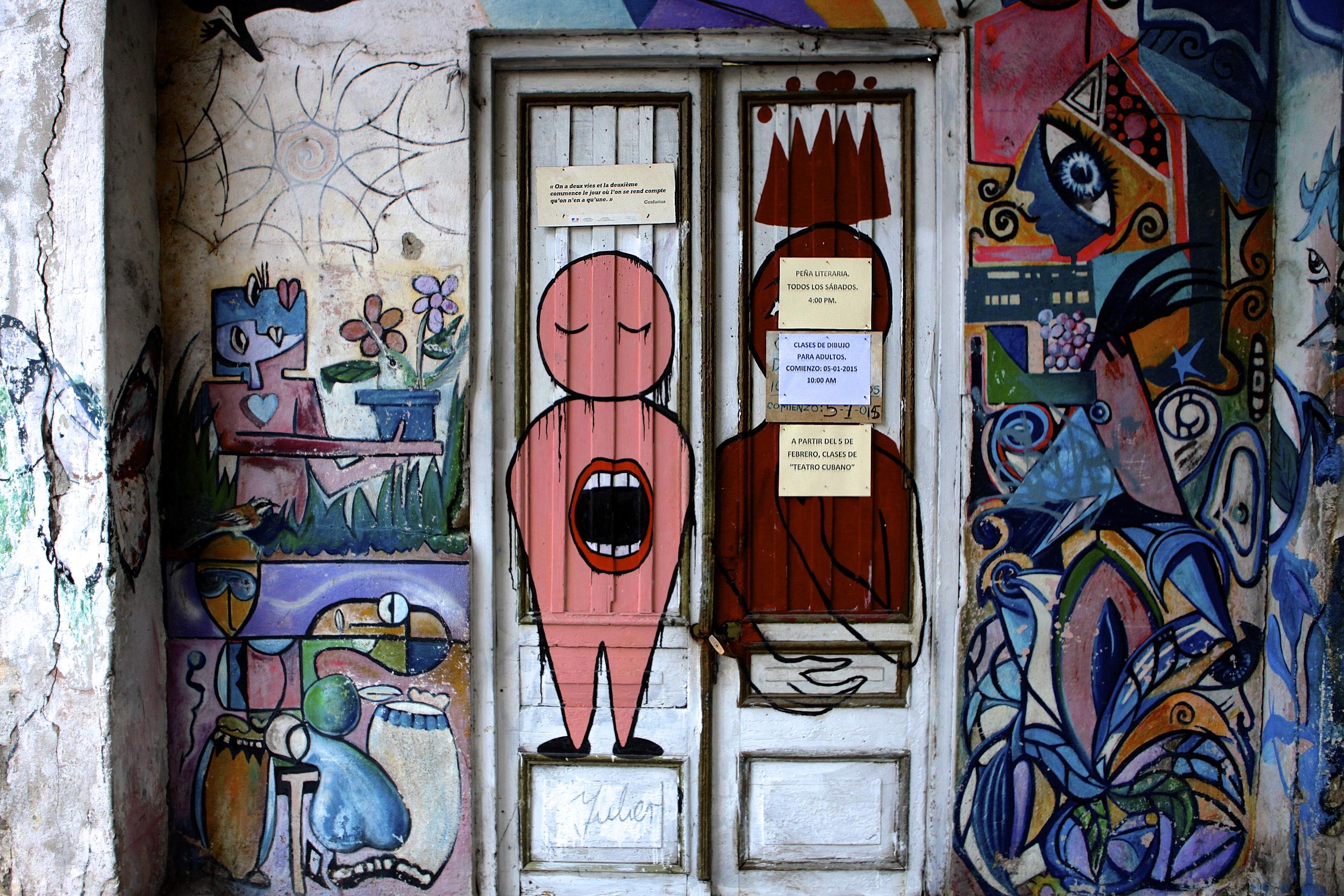 Gallery Door – On the Prado