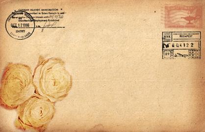 アンティーク封筒フロント