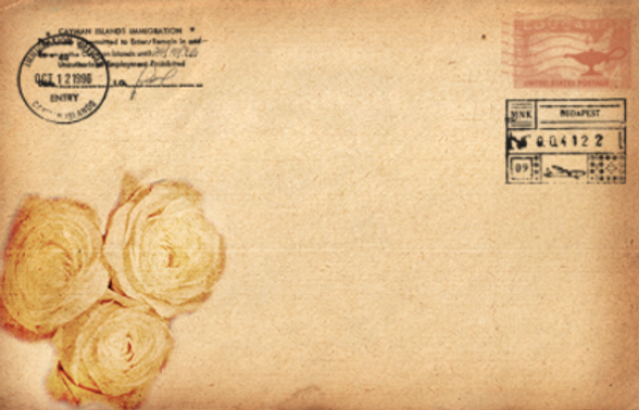 Antique Envelope Front