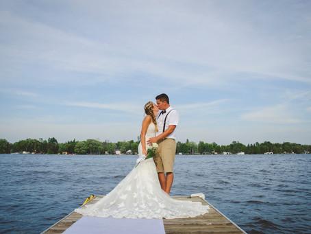 Dany + Brooke {Fenelon Falls Cottage Wedding}