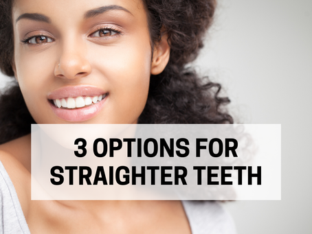 3 Options for Straighter Teeth