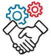 Technology Partnership Icon