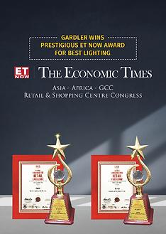 Gardler Lighting Economic Times ET Now Award