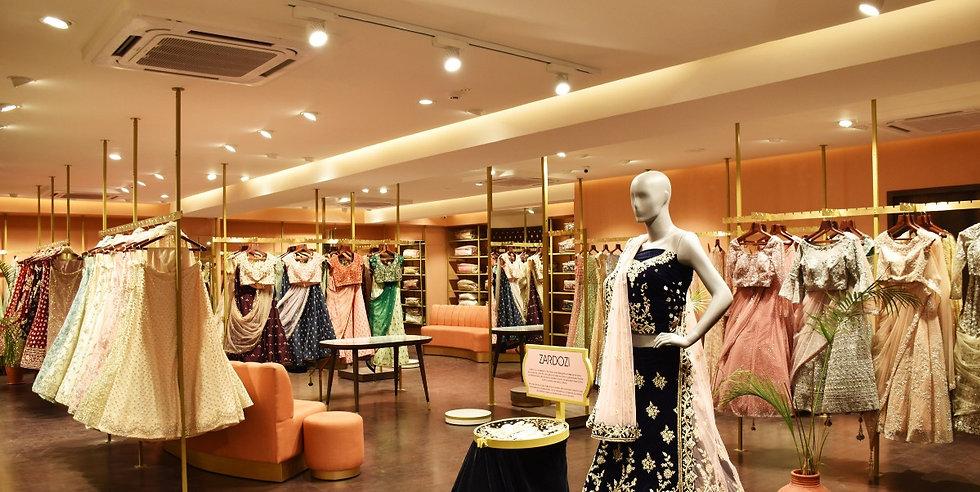 Gardler Lighting Fashion, Apparel & Accessories Retail Store Lighting