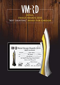 Gardler VMRD 2018 Award