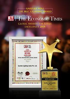 Gardler Lighting The Economic Times ET Now Award