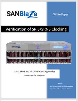 SRIS-SRNS Clocking