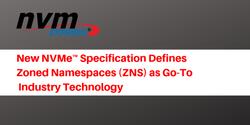 Zoned Namespaces