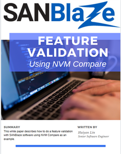 NVMe Feature Validation WP