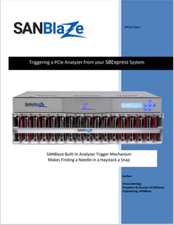 Triggering a PCIe Analyzer from your SBE