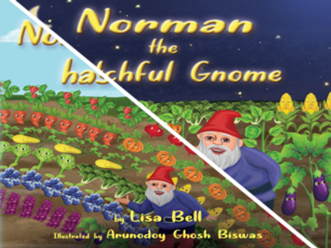 Norman the Watchful Gnome & Norman the Gnome has Colorful Friends