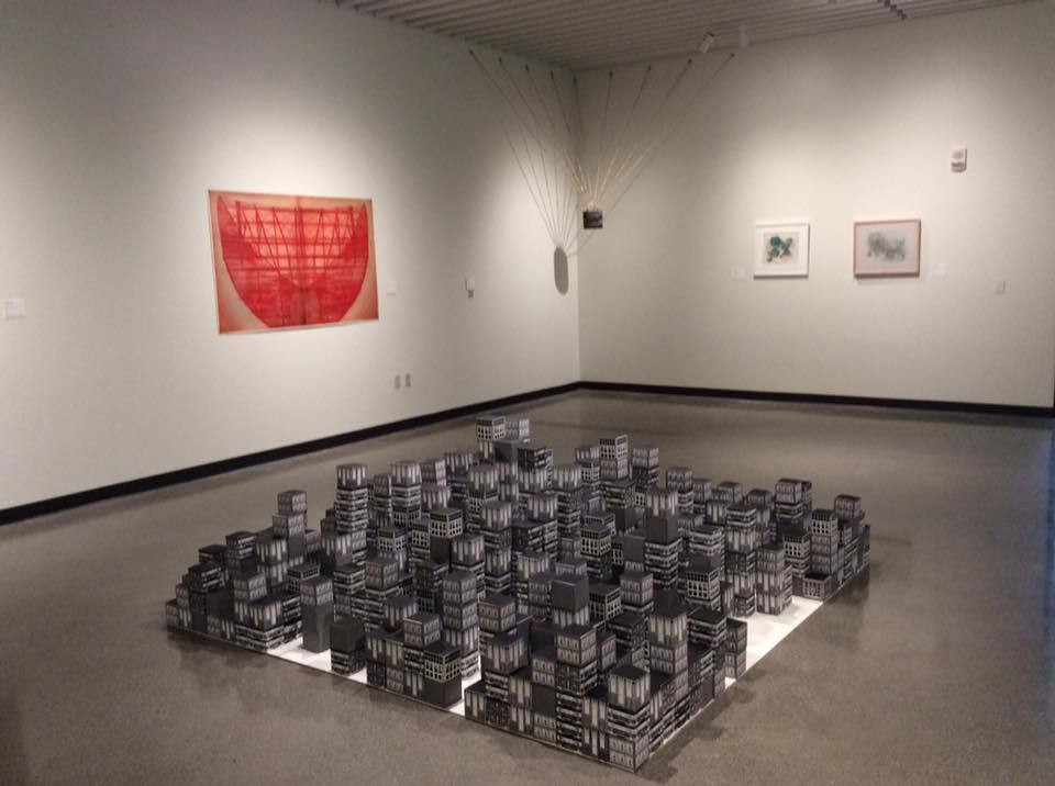 """""""Currency: 11th Turner National Print Competition and Exhibition"""" Jacki Headley University Art Gallery"""