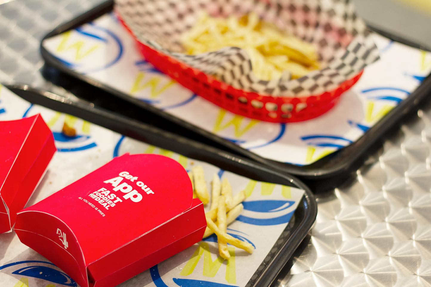 fast-food presentation