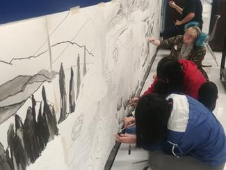 Aldergrove Community Secondary School Legacy Mural
