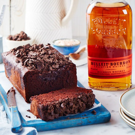 Chocolate Bourbon Loaf Cake