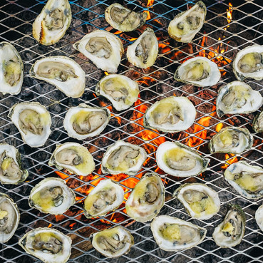 Miso Grilled Oysters