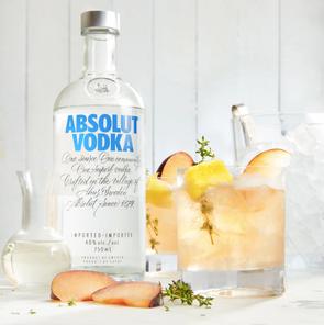Plum-Thyme Vodka Gimlet