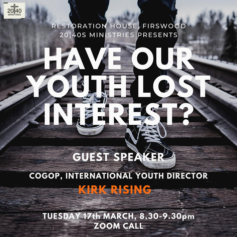 Have our youth lost interest?