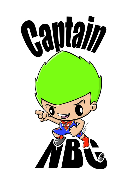 Captain NBC Jamie Rahn Sticker