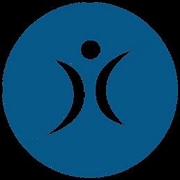 World Ninja Sport Logo 4 blue hollow tra